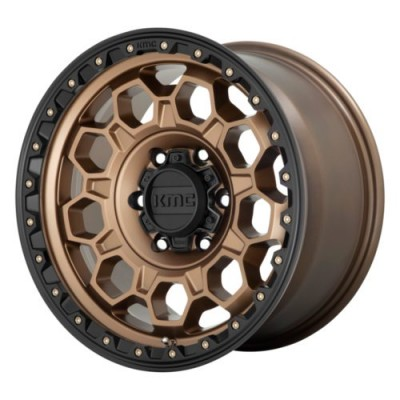 KMC Wheels KM545 Matte Bronze wheel (17.00X9.00, 6x139.70, 106.1, -12 offset)