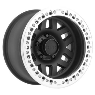 KMC Wheels MACHETE CRAWL Satin Black wheel (17.00X9.00, 5x127.00, 78.3, -38 offset)