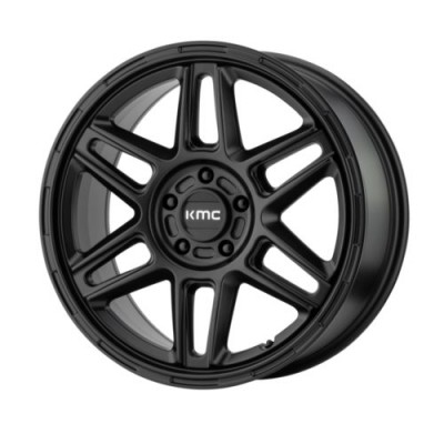 KMC Wheels NOMAD Satin Black wheel (15X7, 5x100, 72.6, 10 offset)