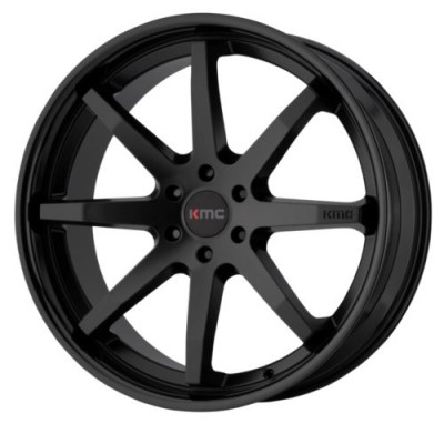 KMC Wheels REVERB Satin Black wheel (20X9, 5x114.3, 72.6, 30 offset)