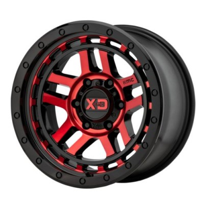 KMC Wheels XD140 RECON Gloss Black Machine wheel (17X8.5, 6x139.7, 106.25, 18 offset)