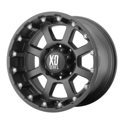 KMC Wheels XD807 STRIKE Matte Black wheel (17X9, 5x139.7, 108, -24 offset)