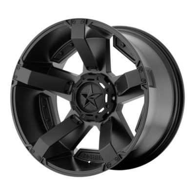KMC Wheels XD811 ROCKSTAR II Matte Black wheel (17X9, 8x180, 130.81, -12 offset)