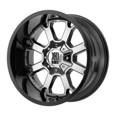 KMC Wheels XD825 BUCK 25 Chrome wheel (20X9, 6x135/139.7, 106.25, 18 offset)