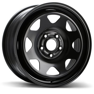 Fast Wheels Premium Euro Steel Wheel Black wheel | 17X7.0, 5x120, 64.1, 50 offset