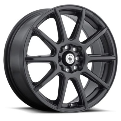 Konig Control Matte Black wheel (14X6, 4x100/108, 73.1, 38 offset)