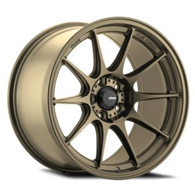 Konig Dekagram Bronze wheel (16X8, 4x108, 73.1, 40 offset)
