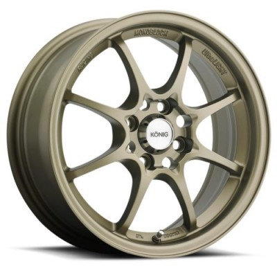 Konig Helium Bronze wheel (15X6.5, 4x100, 73.1, 40 offset)