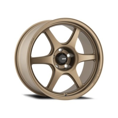Konig Hexaform Matte Bronze wheel (18X10, 5x120, 72.6, 33 offset)