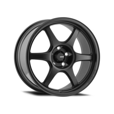 Konig Hexaform Matte Black wheel (18X10, 5x120, 72.6, 33 offset)