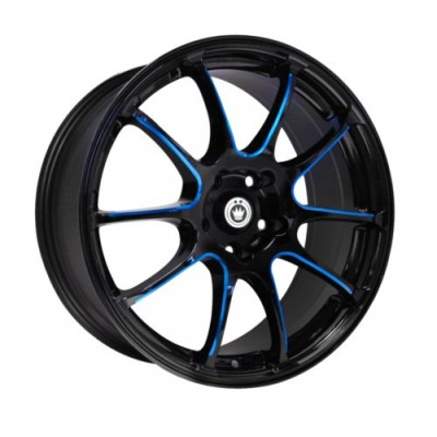 Konig Illusion Black wheel (17X7, 5x114.3, 73.1, 40 offset)