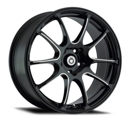 Konig Illusion Black wheel (15X6.5, 4x100, 73.1, 38 offset)