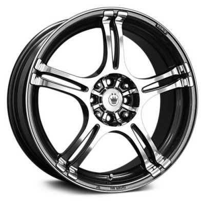 Konig Incident Graphite wheel (13X5.5, 4x100/114.3, 73.1, 38 offset)