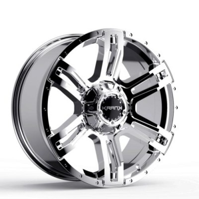 KranK Off-road Caliper Chrome wheel (18X9.0, 8x170, 125.1, 18 offset)
