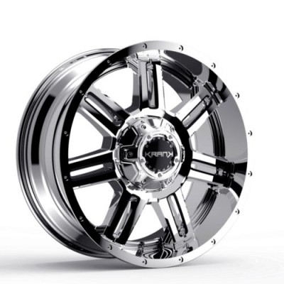 KranK Off-road Force Chrome wheel (18X9.0, 8x170, 125.1, 18 offset)
