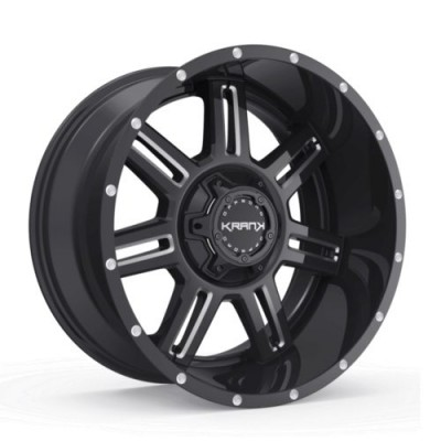 KranK Off-road Force Gloss Black wheel (17X9.0, 5x114.3, 78.1, 0 offset)