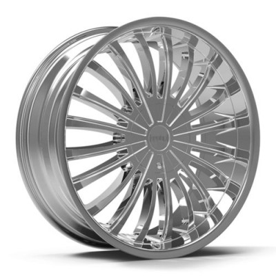 KRONIK DANK Chrome wheel (22X8.5, 5x114.3/120, 73.1, 40 offset)