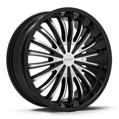 KRONIK DANK Machine Black wheel (20X8.5, 5x110/115, 73.1, 38 offset)
