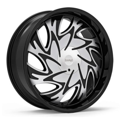 KRONIK TRYST Machine Black wheel (20X8.5, 5x114.3/120, 73.1, 38 offset)