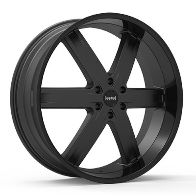 KRONIK ZERO Black wheel (24X9.5, 6x139.7, 100.3, 25 offset)