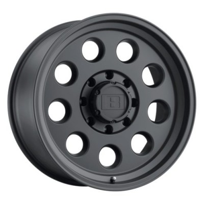 Level 8 Motorsports HAULER Matte Black wheel (15X8, 6x139.7, 112.1, -30 offset)