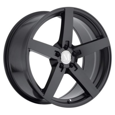 Mandrus ARROW Matte Black wheel (17X8, 5x112, 66.6, 32 offset)
