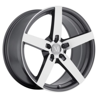 Mandrus ARROW Machine Gunmetal wheel (17X8, 5x112, 66.6, 25 offset)