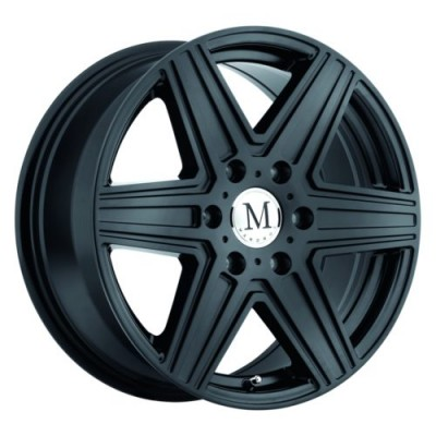 Mandrus ATLAS Matte Black wheel (16X7, 6x130, 84.1, 52 offset)