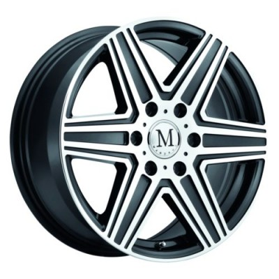 Mandrus ATLAS Machine Gunmetal wheel (16X7, 6x130, 84.1, 52 offset)