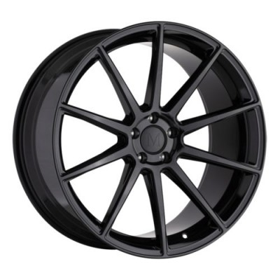 Mandrus KLASS Gloss Black wheel (17X8, 5x112, 66.6, 25 offset)