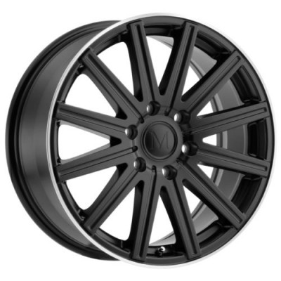 Mandrus STARK Matte Black wheel (16X7, 6x130, 84.1, 52 offset)