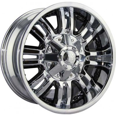 Mayhem 8070 Assault Chrome wheel (18X9, 5x139.7, 108, -12 offset)