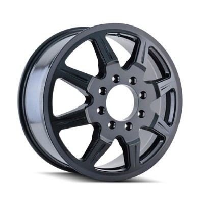 Mayhem MONSTIR Black wheel (19.5X6.75, 8x165.1, 121.3, 102 offset)