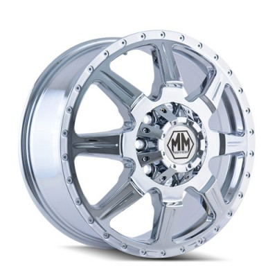 Mayhem MONSTIR Chrome wheel (19.5X6.75, 8x170, 124.9, 102 offset)