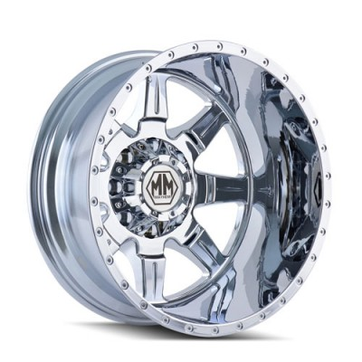 Mayhem MONSTIR Chrome wheel (19.5X6.75, 8x170, 124.9, -143 offset)