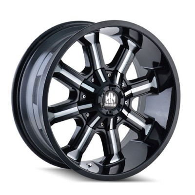 Mayhem BEAST Machine Black wheel (20X9, 6x135/139.7, 108, 0 offset)