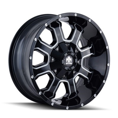 Mayhem FIERCE Gloss Black Machine wheel (20X10, 6x135/139.7, 108, -19 offset)