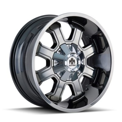 Mayhem FIERCE Chrome wheel (20X10, 6x135/139.7, 108, -19 offset)
