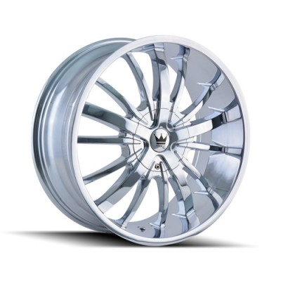 Mazzi ESSENCE Chrome wheel (22X9.5, 5x114.3/120, 74.1, 35 offset)