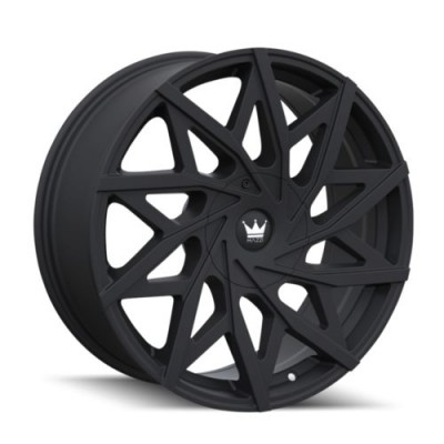 Mazzi BIG EASY Matte Black wheel (18X8, 5x112/120, 74.1, 35 offset)