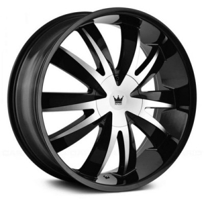 Mazzi EDGE Gloss Black Diamond Cut wheel (18X7.5, 5x110/115, 72.62, 40 offset)