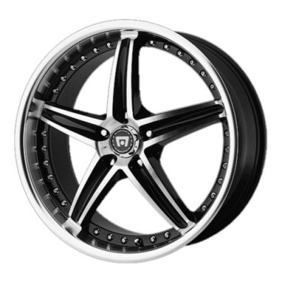 Motegi MR107 Gloss Black Machine wheel (16X7, 5x100, 72.60, 45 offset)