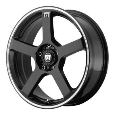 Motegi MR116 Gloss Black Machine wheel (18X8, 5x108/114.3, 72.60, 45 offset)
