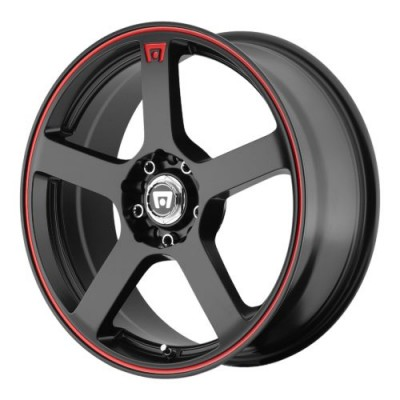 Motegi MR116 Matte Black wheel (16X7, 5x100/114.3, 72.60, 40 offset)