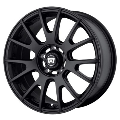 Motegi MR118 Matte Black wheel (17X8, 5x120, 74.10, 45 offset)