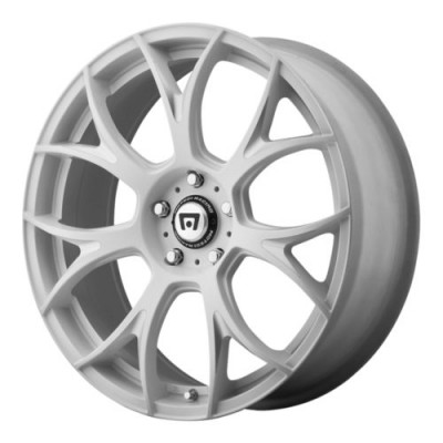 Motegi MR126 Machine White wheel (20X8.5, , 57.1, 38 offset)