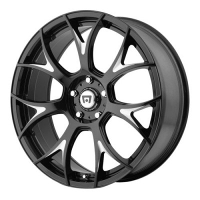 Motegi MR126 Gloss Black Machine wheel (17X8, 5x114.3, 72.60, 45 offset)