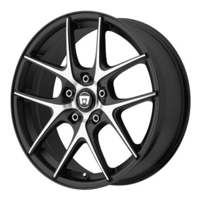 Motegi MR128 Machine Black wheel (17X7.5, 5x120, 74.1, 45 offset)