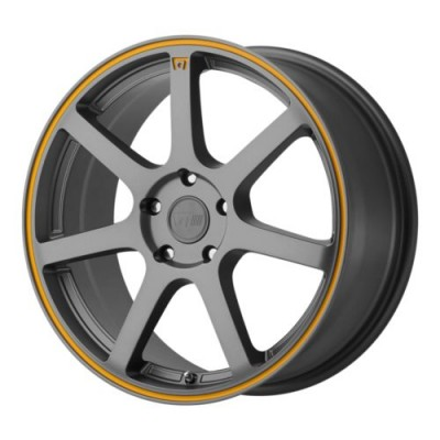 Motegi MR132 Dark Matte Grey wheel (15X6.5, 5x114.3, 72.60, 40 offset)