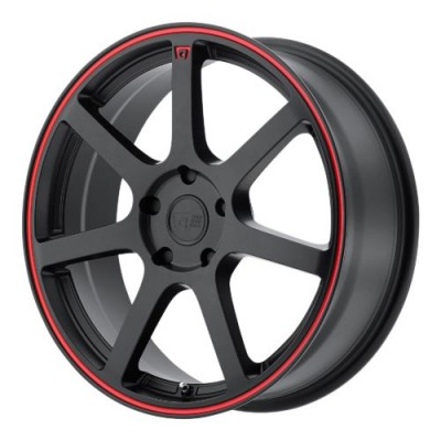 Motegi MR132 Matte Black wheel (16X7, 4x100, 72.60, 40 offset)